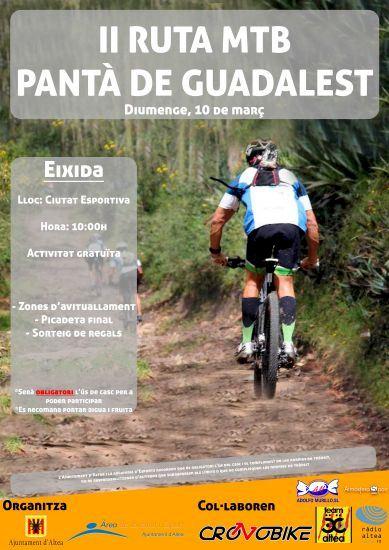 Deportes Organiza La Ii Ruta Mtb Al Pantano De Guadalest