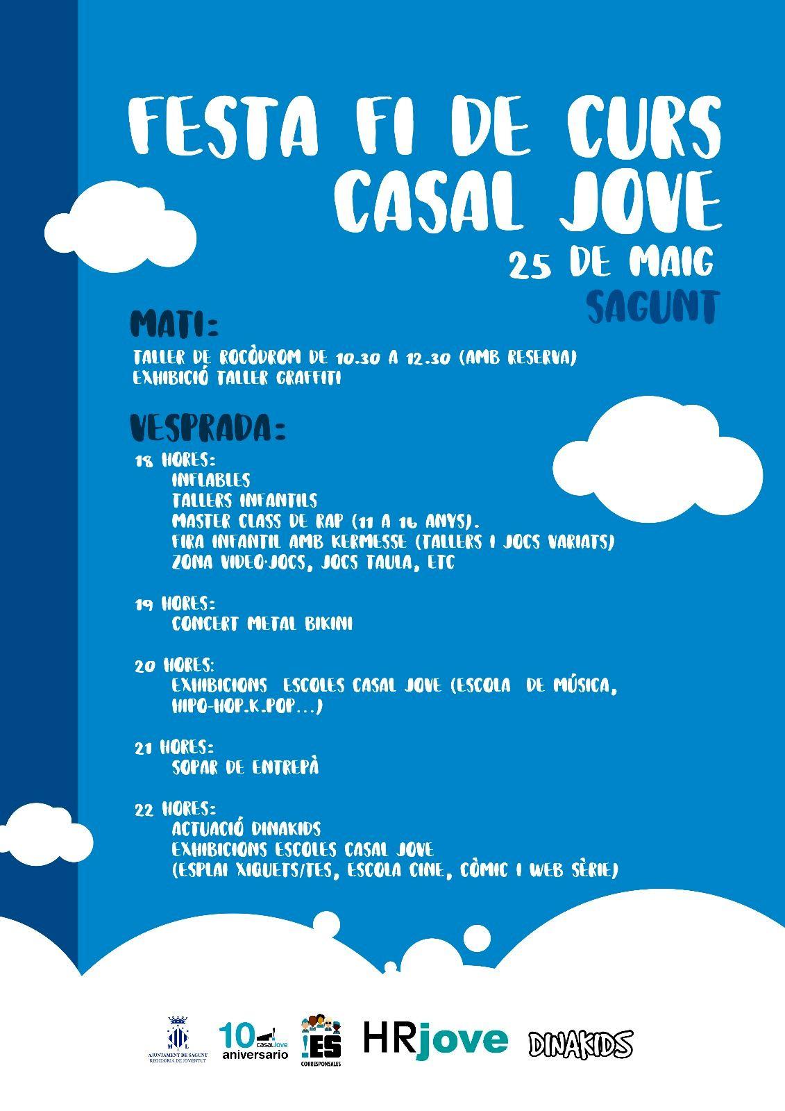El Acoge Casal Este La Fin Semana Jove De Fiesta Curso 54jA3RL
