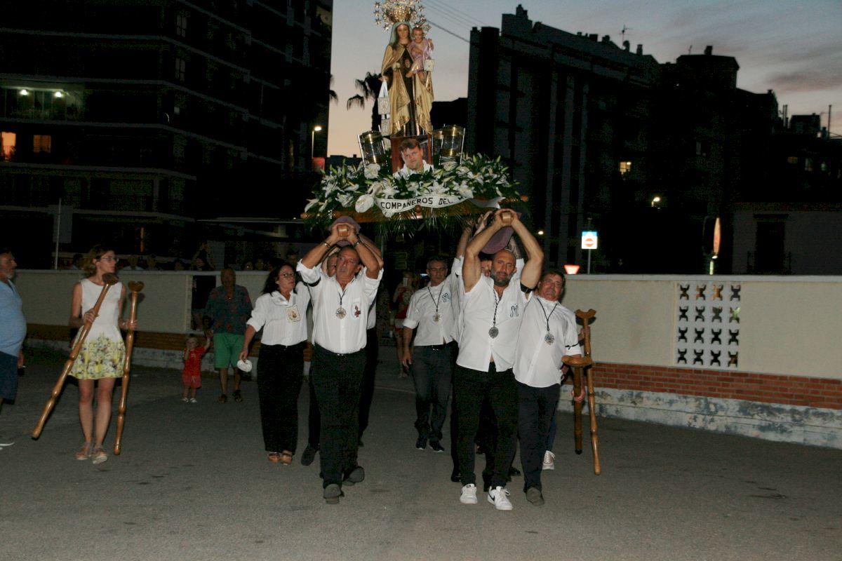 Conductores de Ibagué rindieron homenaje a la Virgen de El Carmen