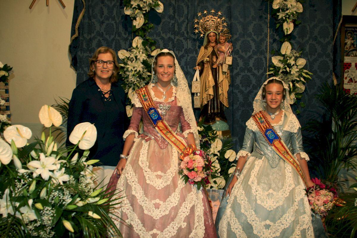 Virgen de Carmen bendice calles de Barquisimeto