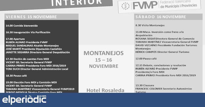 Montanejos inaugura mañana Villa Purificación - elperiodic.com