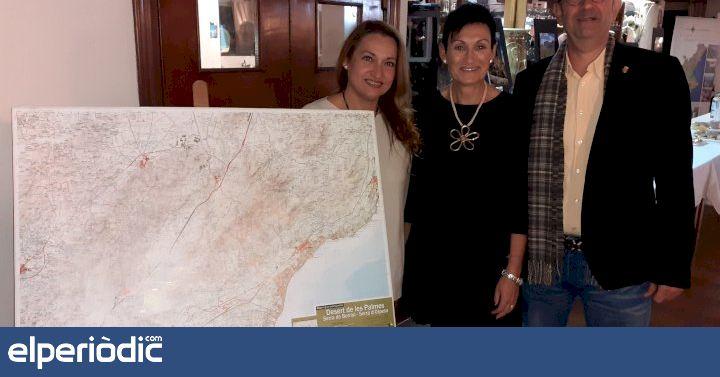 El Parque Natural del Desierto de las Palmas cierra su 30 aniversario con la presentación del nuevo mapa cartográfico - elperiodic.com