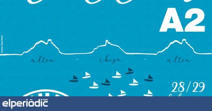 La regata 200 millas a2 promueve el arte en Altea