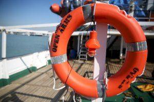 Los barcos de rescate del Mediterráneo central atracan en Burriana