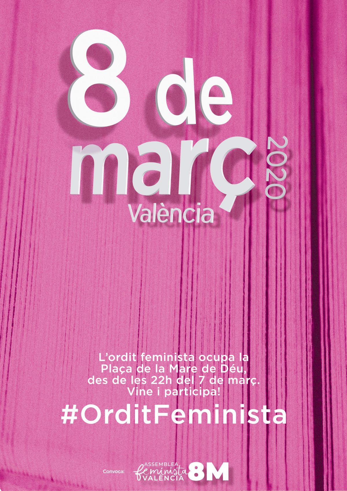 Resultado de imagen de assemblea feminista valencia 8m