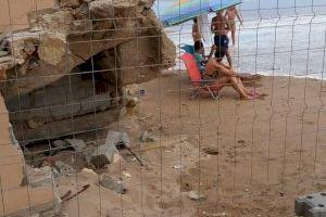 Tavernes se une y estalla contra Costas por el grave deterioro de la playa de La Goleta - (foto 9)