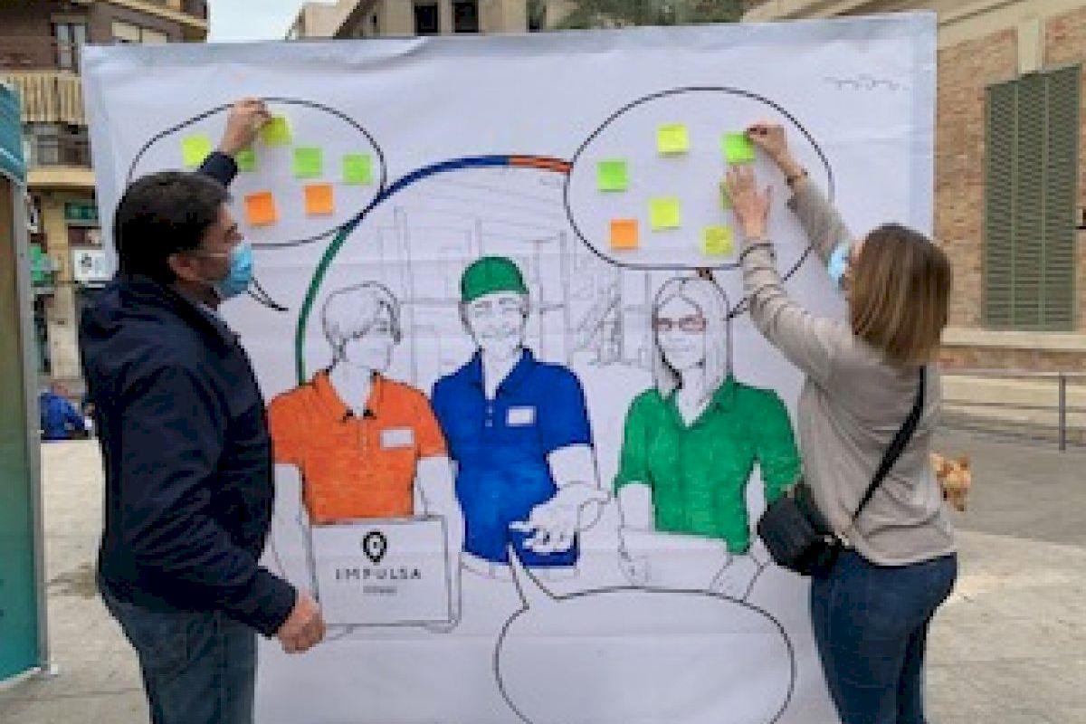 Más de 200 personas desempleadas reciben orientación laboral en las carpas de la EDUSI Las Cigarreras de Alicante