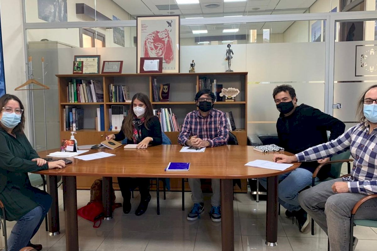 El espacio cultural de la Diputación abre el miércoles sus puertas totalmente renovado con una exposición de ilustraciones de jóvenes castellonenses