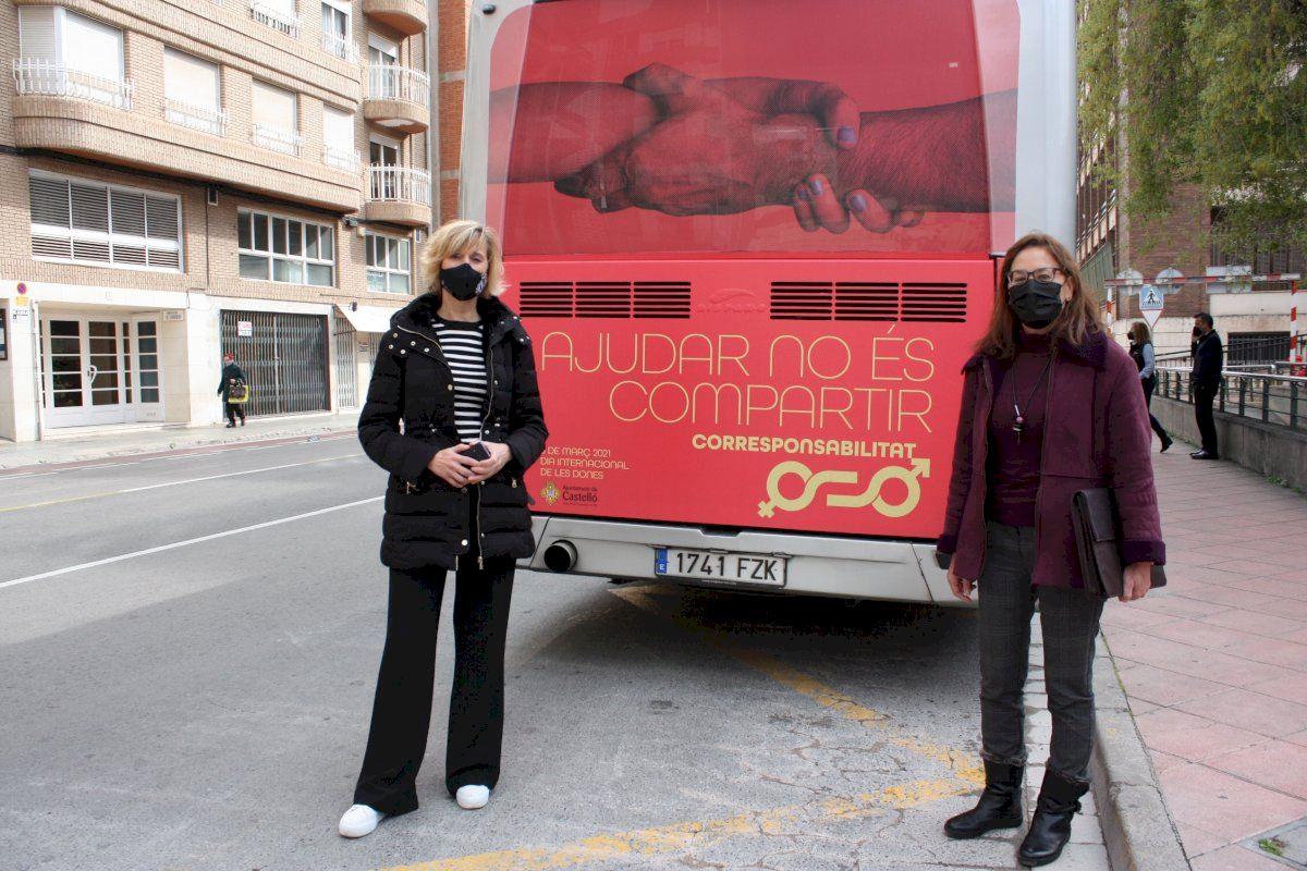 Castelló hace visible la corresponsabilidad en el hogar en el día internacional de las mujeres
