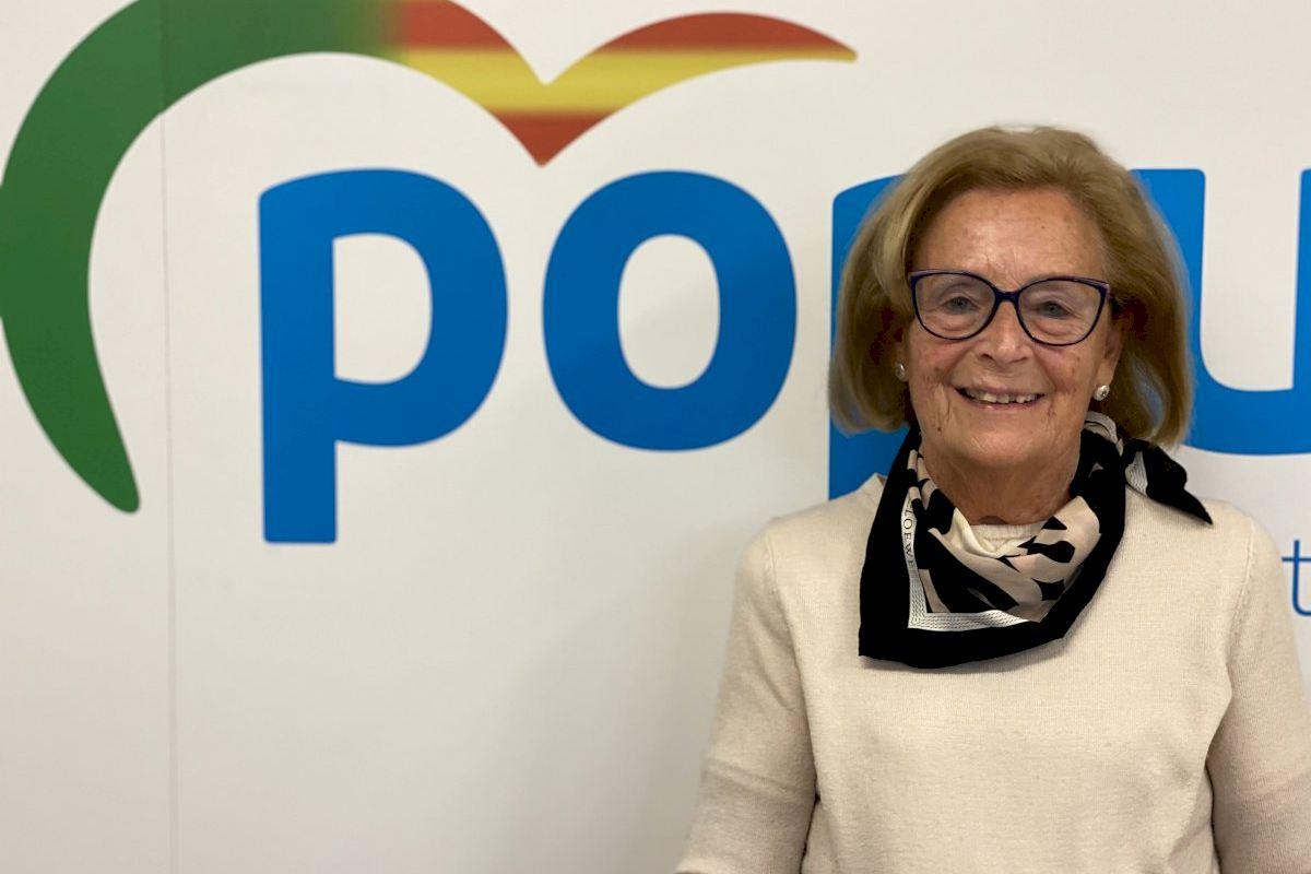 Marisa Ribes recibirá el 'Premio a la Mujer más Popular del Año' el 8 de marzo en reconocimiento a su trayectoria al servicio de los castellonenses