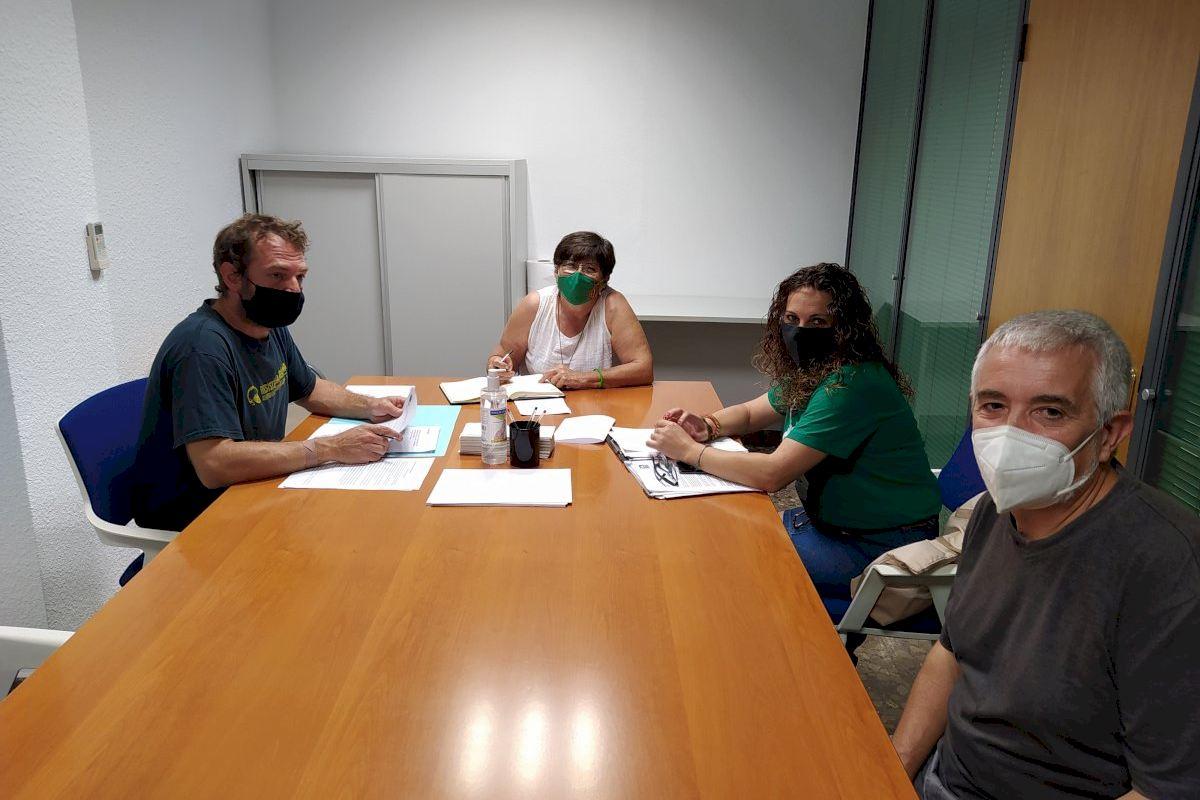 Vivienda facilita apoyo técnico al Sindicato de Inquilinos de Castelló en su denuncia contra seis fondos buitres e inmobiliarias
