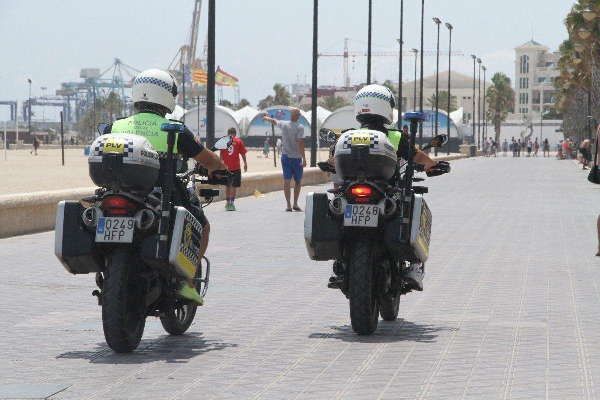 La Policía Local de València busca aumentar la seguridad en La Marina