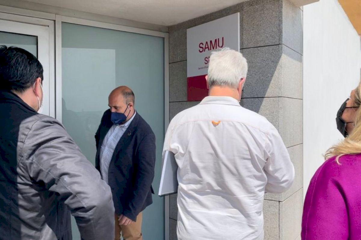Massamagrell pone en marcha la nueva base de la SAMU