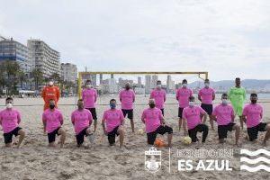 Presentación camiseta entrenamiento Fútbol Playa Benidorm