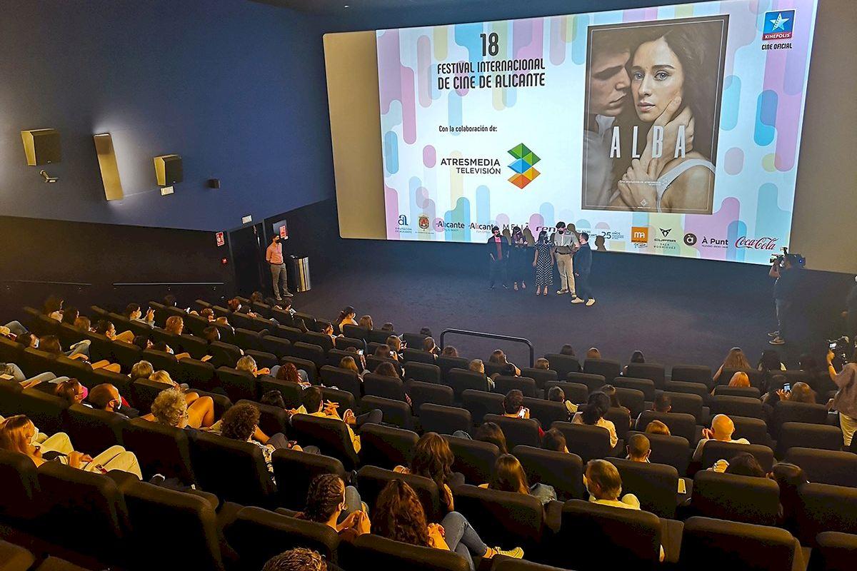 14.000 personas participan en la 18ª edición del Festival de Cine de Alicante