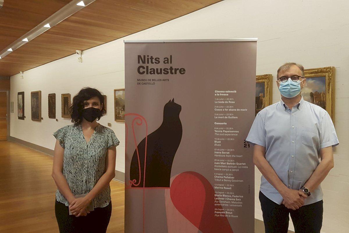 L'IVC refuerza 'Nits al Clautre' con cine valenciano y ocho espectáculos musicales