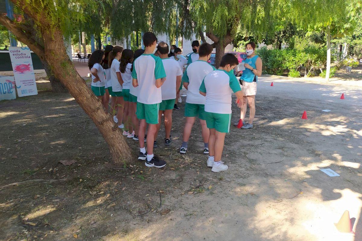 Castelló organiza una gincana escolar para explicar la biodiversidad del término dentro de la campaña Eduquem en Verd