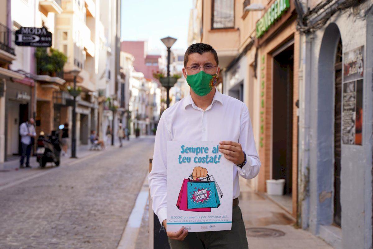 Castelló lanza la campaña 'Sempre al teu costat!' para dinamizar el comercio local en verano