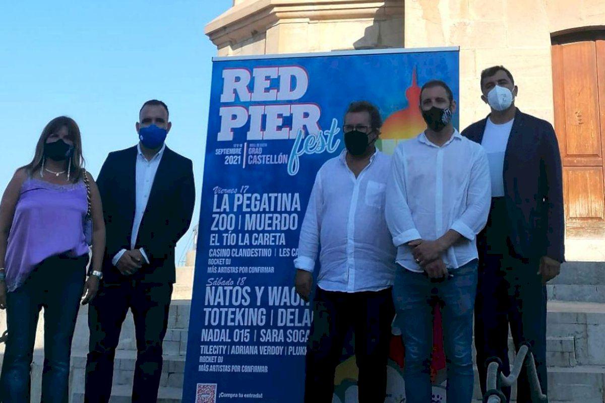 RED PIER FEST anuncia que será el primer festival de la Comunitat Valenciana en llevarse a cabo sin distancia social