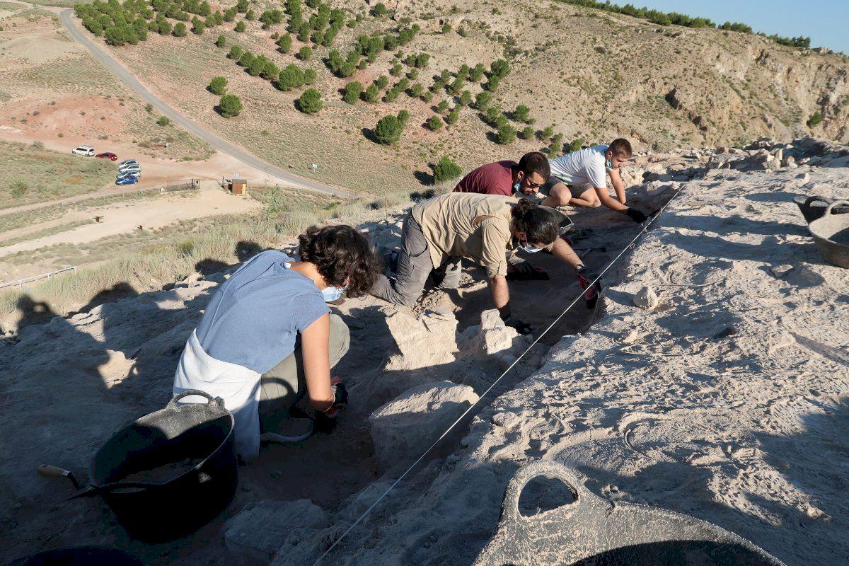 Arqueólogos de la UA explican Cabezo Redondo, sus avances y hallazgos, en las Jornadas de Puertas Abiertas de este fin de semana
