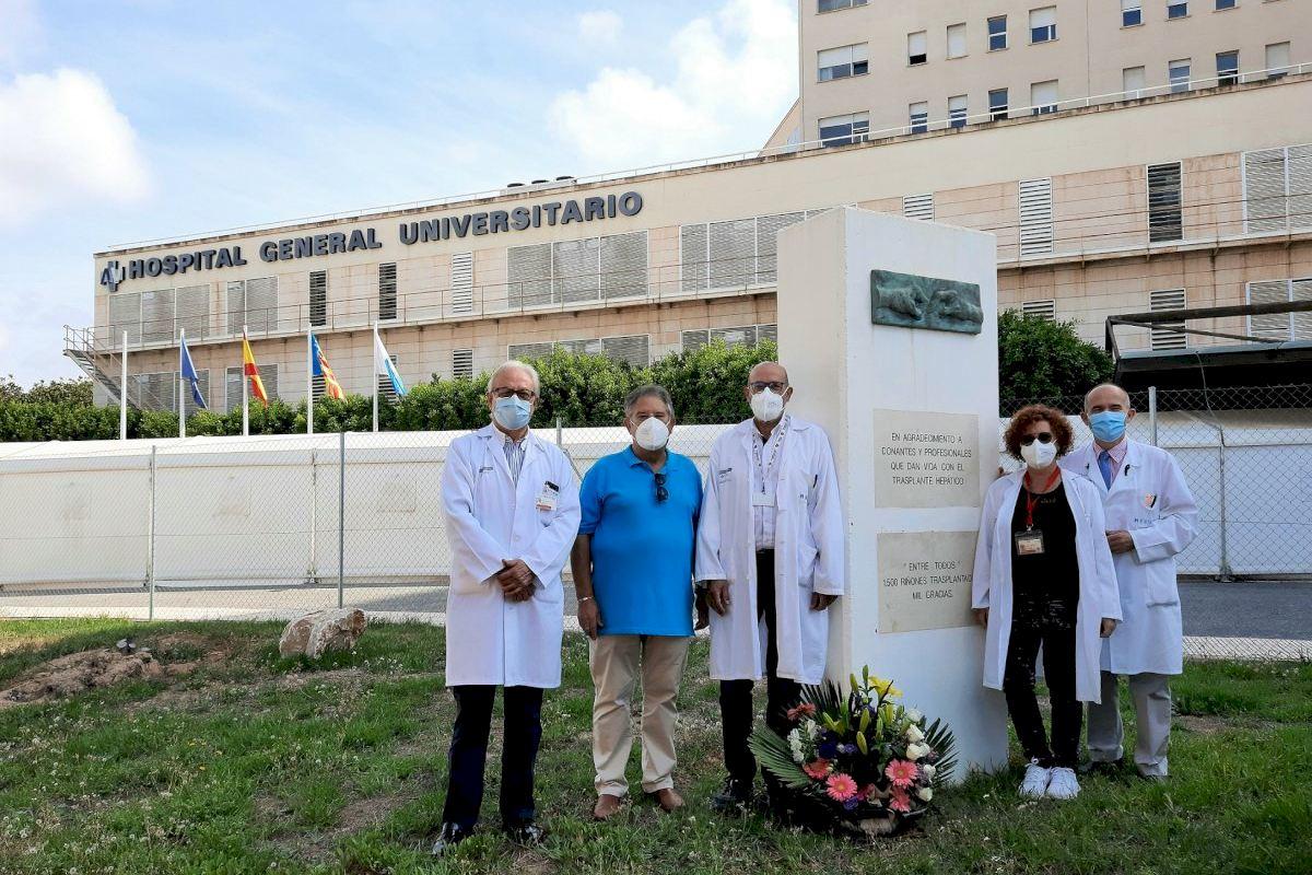 El Hospital General de Alicante realiza ocho trasplantes en 72 horas