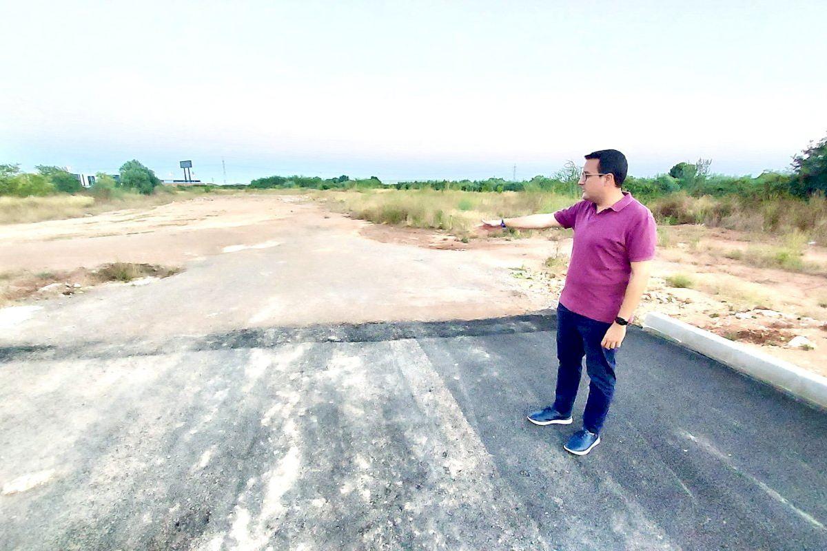 Casabó lamenta que la ronda suroeste se haya terminado a un carril por sentido y sin conexión con la N-340