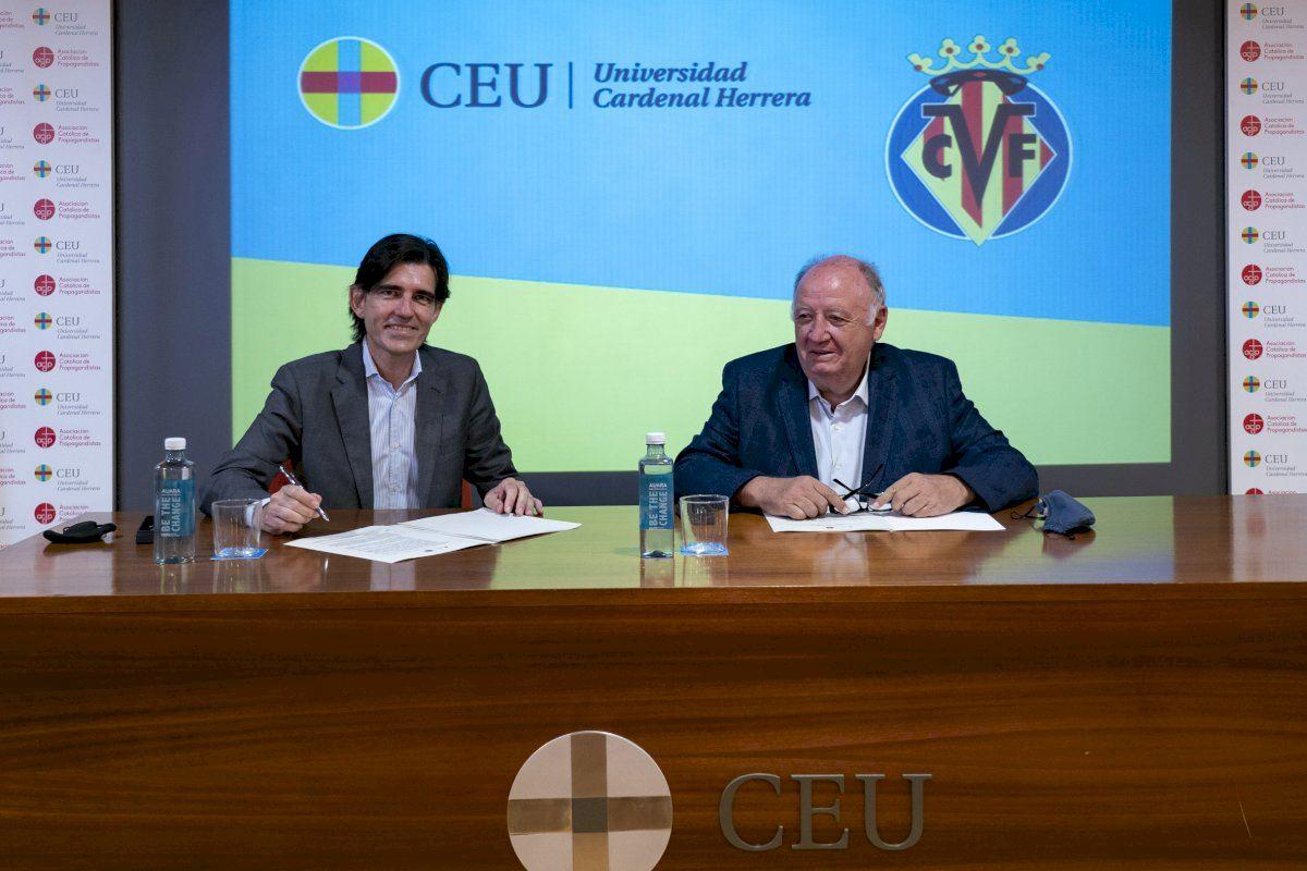 El Villarreal CF y la CEU UCH refuerzan su colaboración