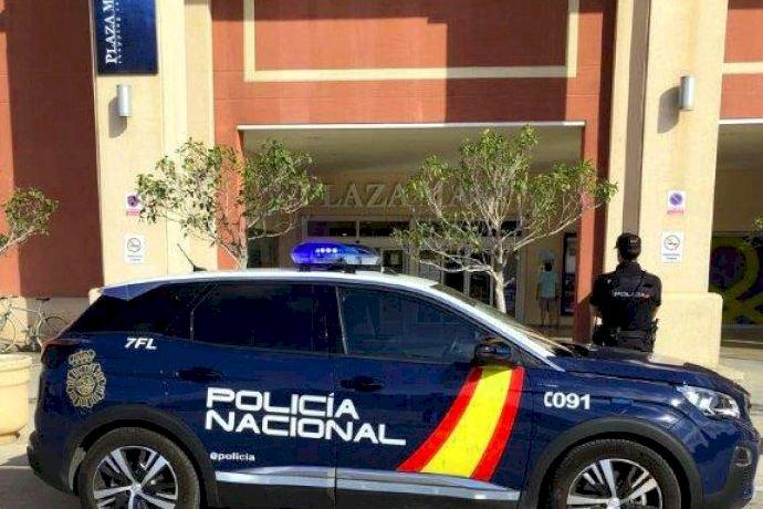 Cuatro detenidos por atracos violentos en un conocido centro comercial de Alicante.