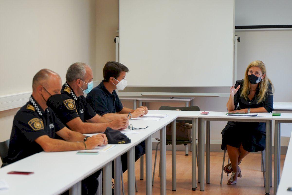 La Policía Local realiza 81 sanciones en julio por incumplir las medidas para contener la covid-19