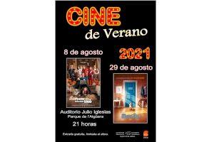 Benidorm programa dos proyecciones de Cine de Verano