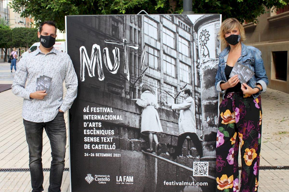 Castelló se prepara para vivir el MUT! más internacional con 23 representaciones al aire libre