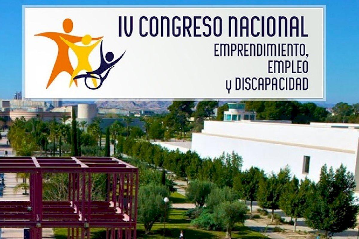 La UA acoge el IV Congreso Nacional de Emprendimiento, Empleo y Discapacidad
