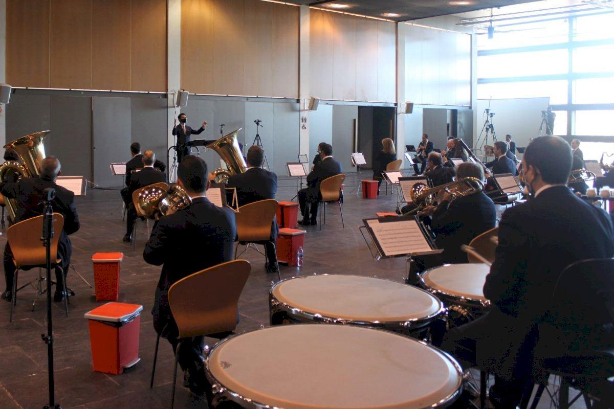 La Banda Municipal de Castelló se estrena en el Festival Ensems de música contemporánea