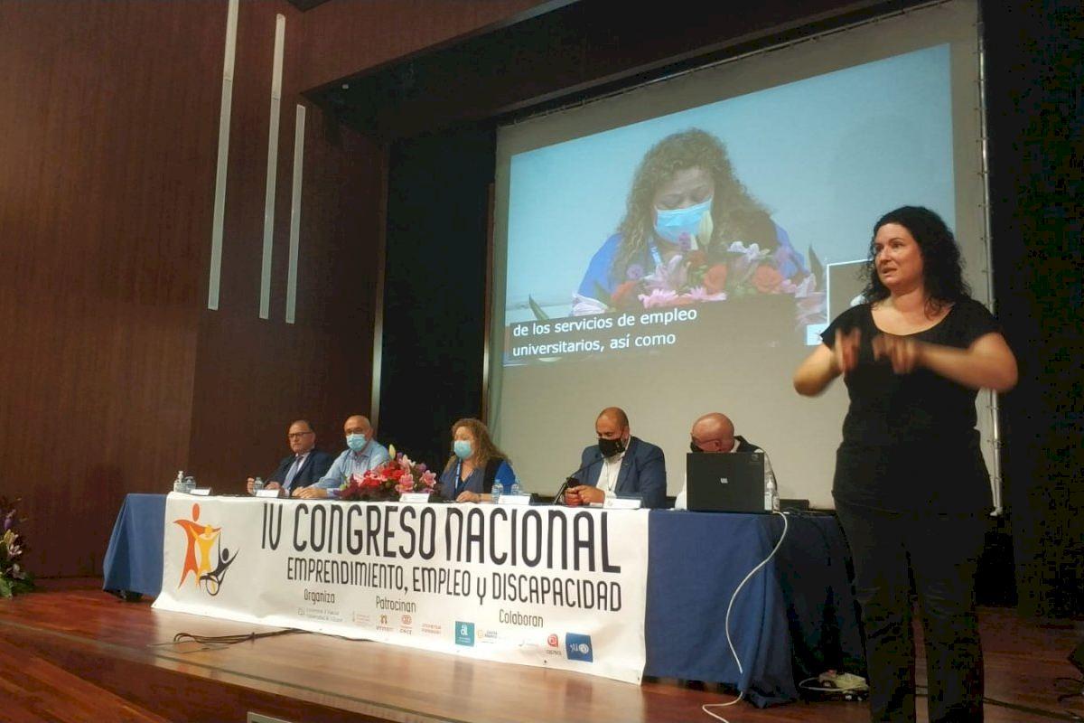 El IV Congreso de Emprendimiento, Empleo y Discapacidad celebrado en la UA señala la importancia de la inclusión laboral como eje de la inclusión social