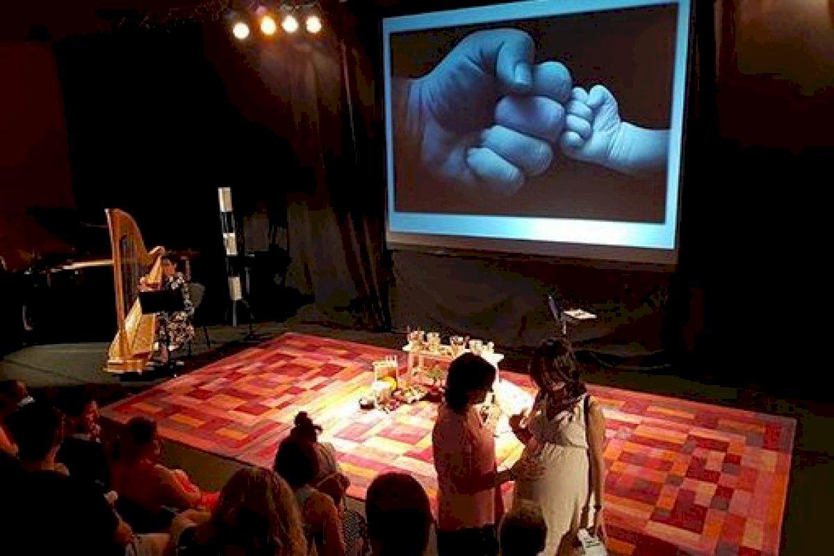 El Auditorio presenta el concierto de Lina & Raül Refree y un taller musical para familias que esperan un bebé