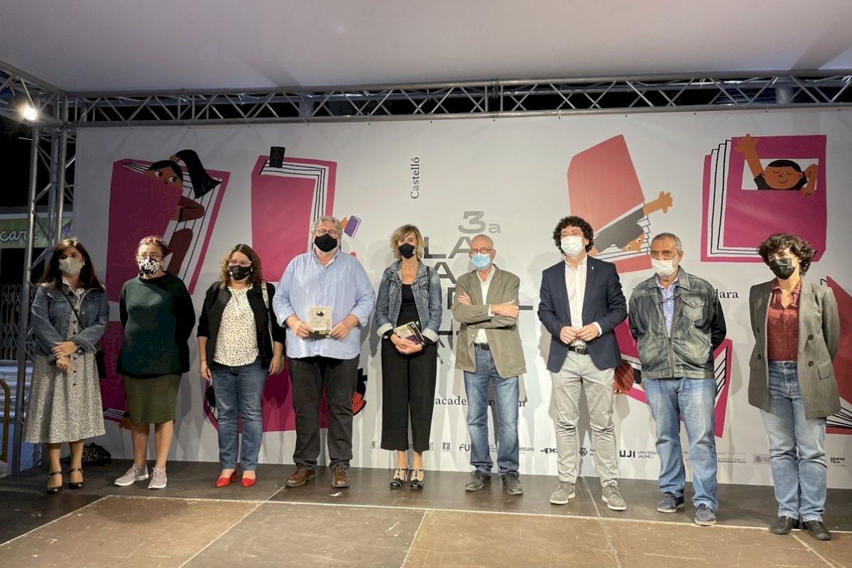 Ruiz participa en la apertura de la gran fiesta de la literatura en Castelló