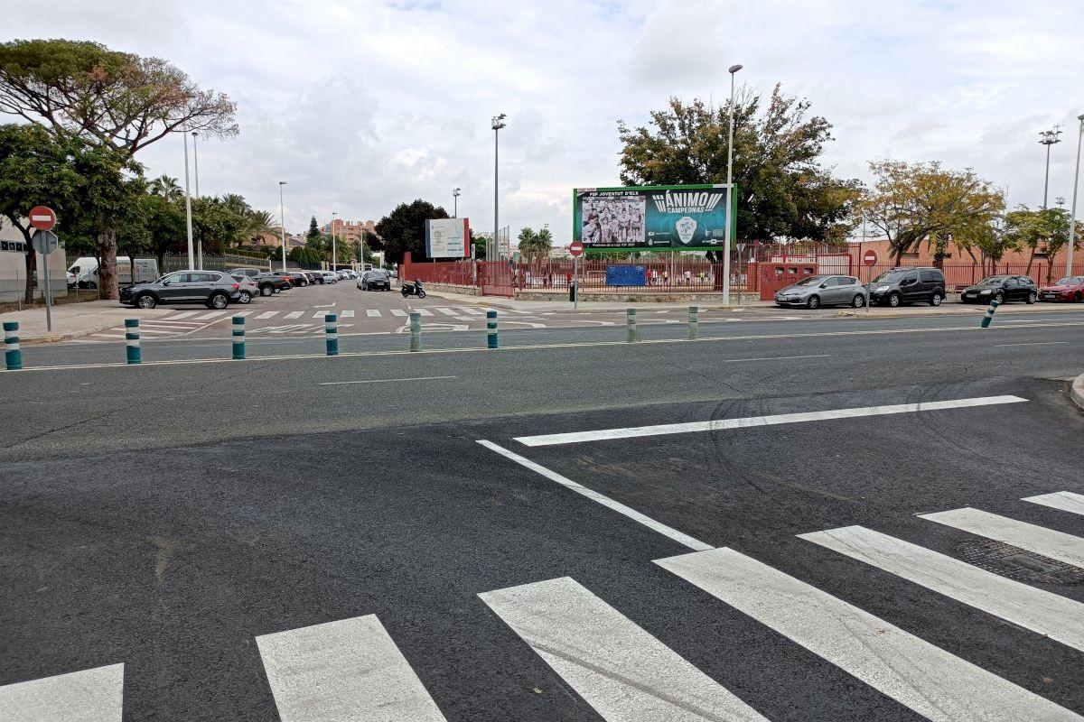 CONTIGO Elche plantea una rotonda en la salida sur de la Cdad Deportiva con la Avda de Alicante