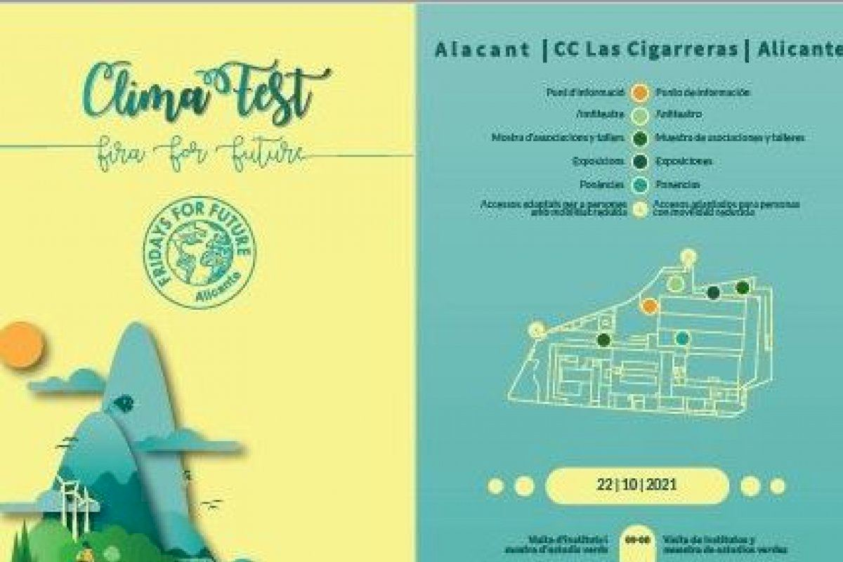 La UMH participa en Alicante en el Clima Fest - Fira for Future, con motivo del Día Mundial contra el Cambio Climático