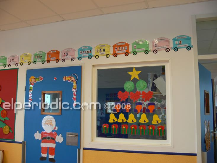 18 12 2008 colegio novenes calatrava decoraci n for Ideas decoracion navidad colegio