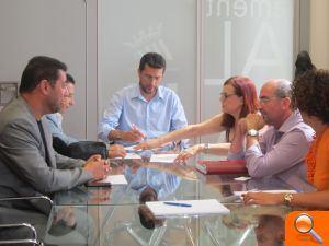 L'Ajuntament d'Alfafar firma un convenio de colaboración con FUNDAEMPLEO para promocionar la integración social y laboral de personas discapacitadas