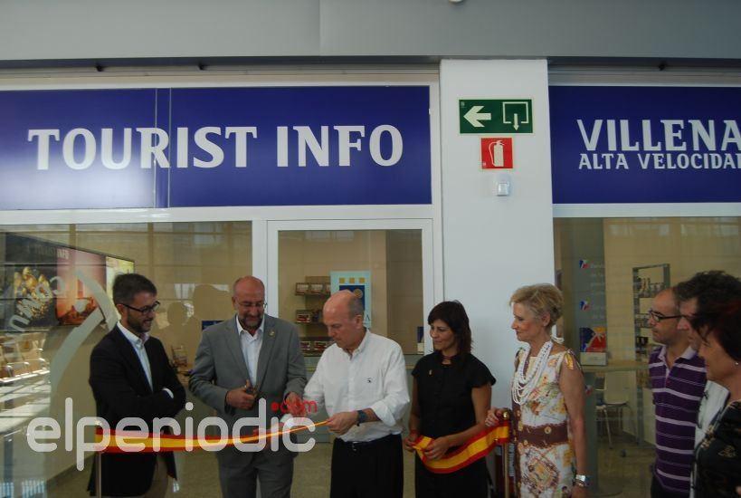 Inaugurada la oficina de turismo en la estaci n ave for Oficina turismo benidorm