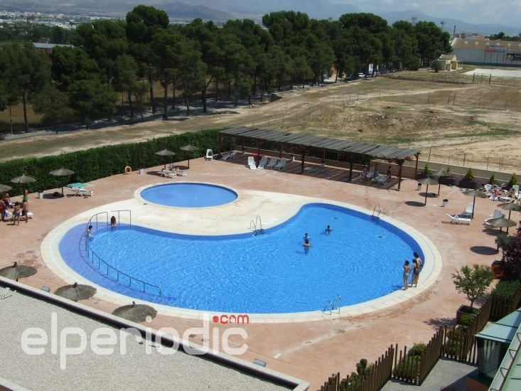 La piscina de verano municipal de aspe ha cerrado sus for Piscina sedavi