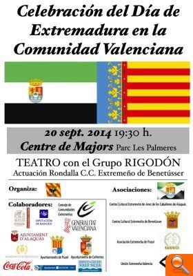 La población extremeña de Alfafar celebra mañana el Día de Extremadura