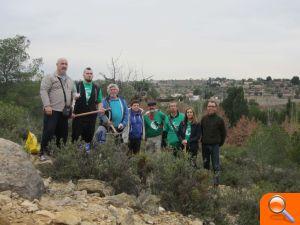 El Voluntariado Ambiental de Llíria realiza una acción de ... - el periodic