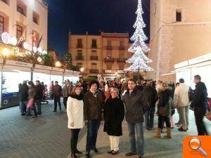 Vinaròs inaugura la tercera edición del Mercat de Nadal - el periodic