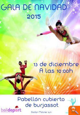 El Club Aerobic Valencia Mar celebra su Gala de Navidad - el periodic