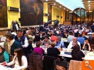 Los Populares de L'Horta Sud celebran su tradicional cena de ... - el periodic