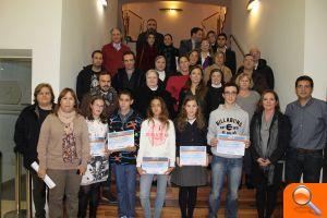 Alumnos y alumnas de Alfafar reciben el Premio al Rendimiento Académico