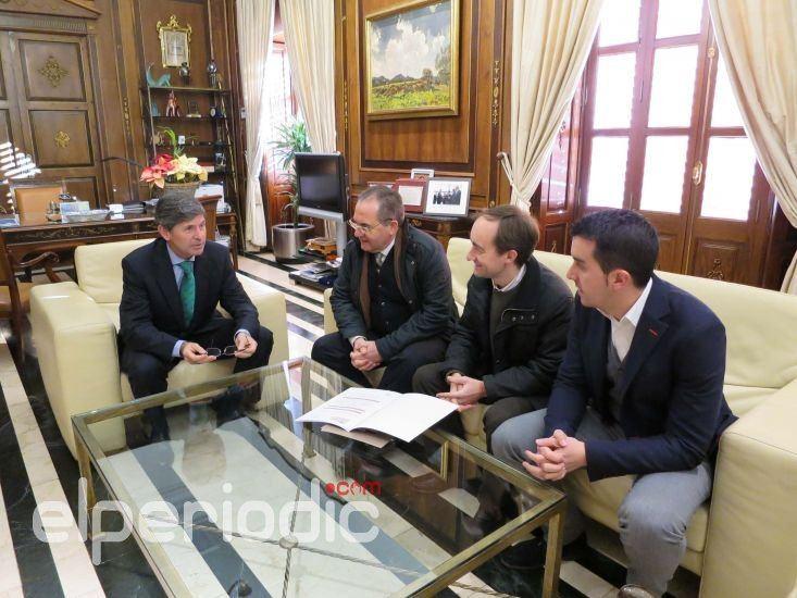 Alfonso bataller se re ne con el colegio de arquitectos de - Arquitectos castellon ...