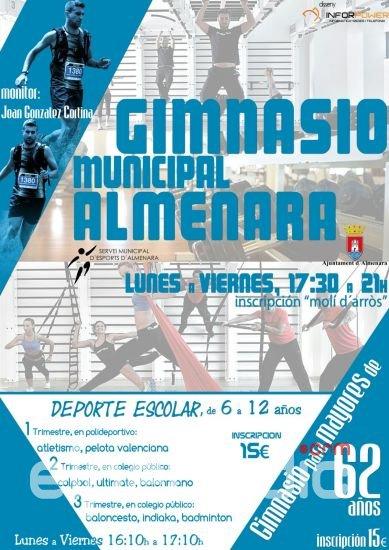 Almenara amplia los servicios del gimnasio municipal for Gimnasio xativa